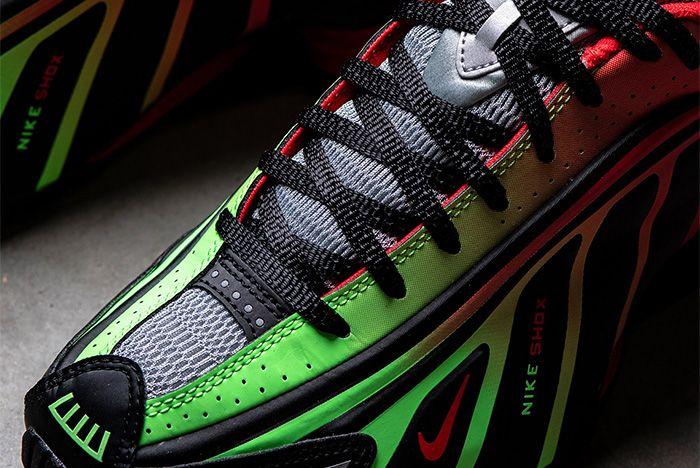 Nike Shox R4 Neymar Red Toe