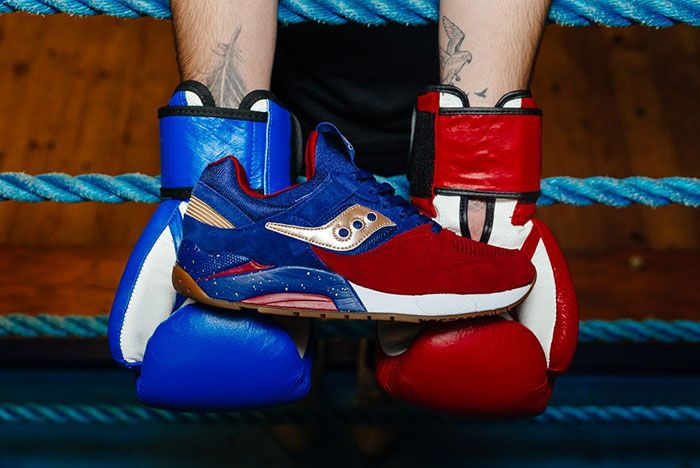 Saucony Grid 9000 Sparring 4