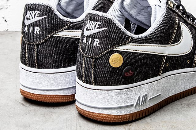 Nike Air Force 1 07 Denim Wolf Grey 4
