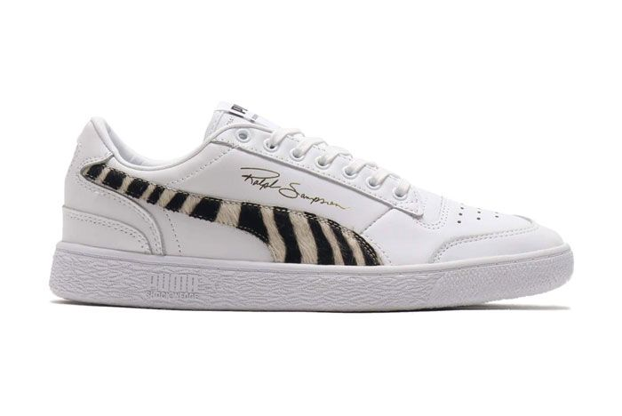 Puma Ralph Sampson Wild Pack White Lateral Side