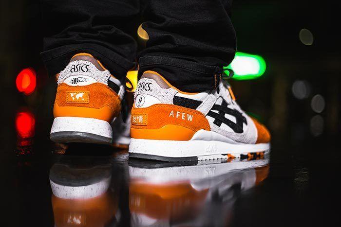 Afew X Beams X Asicstiger Orange Koi On Feet 07