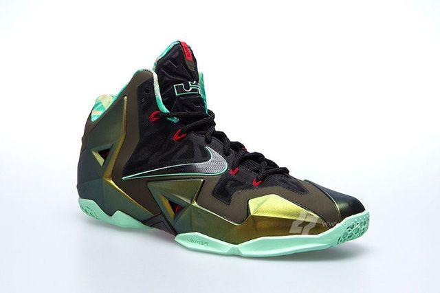 Nike Lebron Xi 11 Parachute Gold Update 4