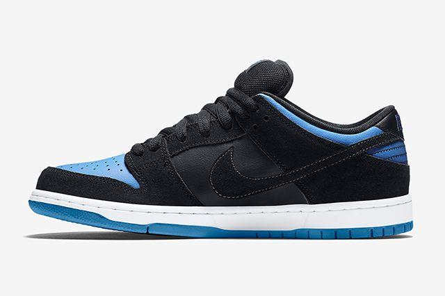 Nike Sb Dunk Low Pro Blackuniversity Blue5