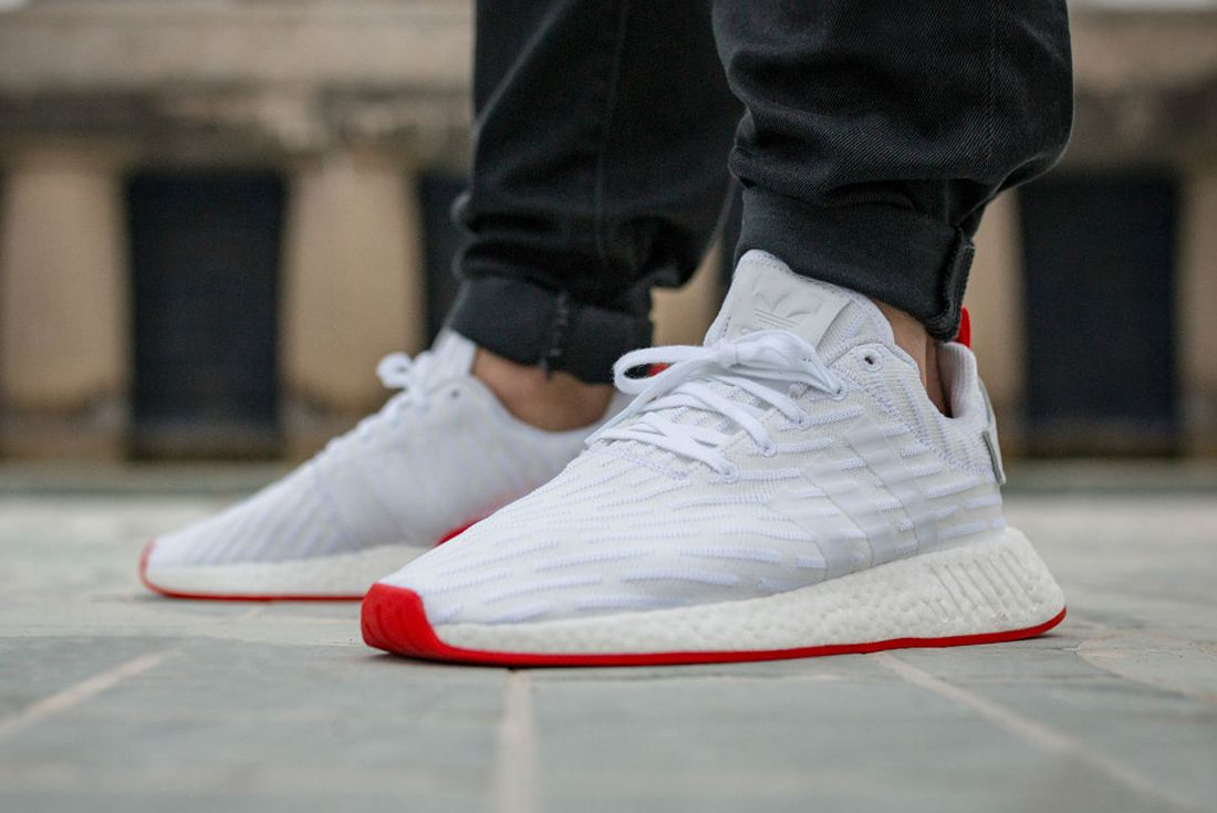 Adidas Nmd R2 Red Sole4