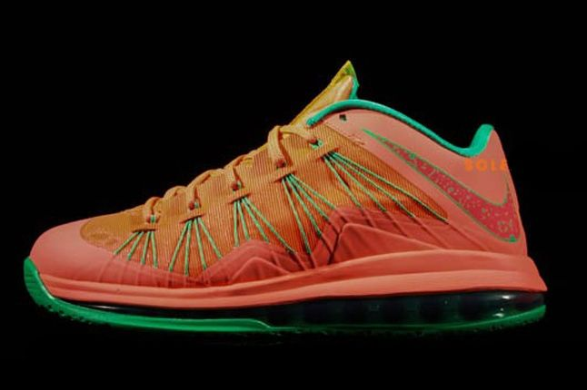Nike Lebron X Low Watermelon Profile 1