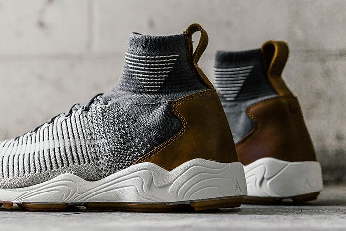Nike Zoom Mercurial Flyknit Dark Grey 1
