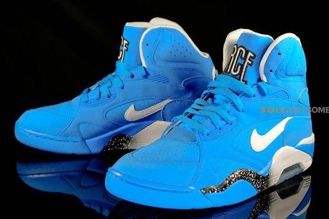 Nike Air Force 180 High Photo Blue Pair 1