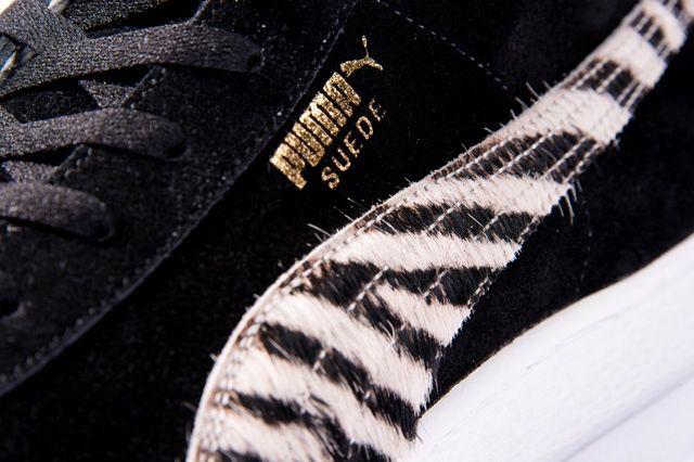 Puma Takumi Fw13 Mij Collection Suede Mid Black Midfoot Detail