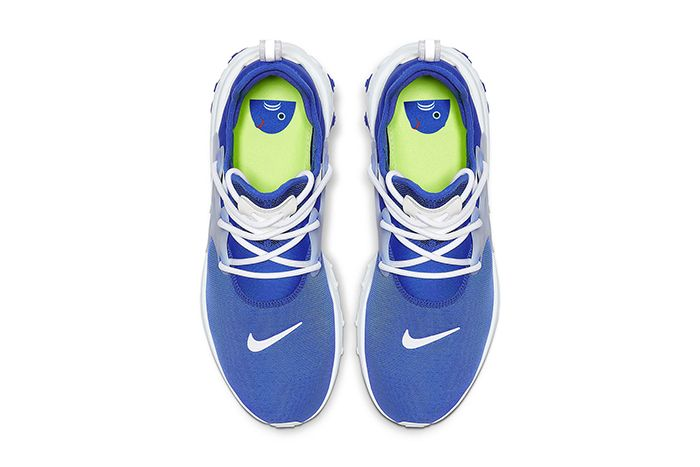 Nike Presto React Hyper Royal Av2605 401 Release Date Top Down