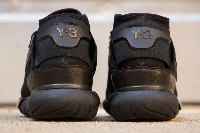 Adidas Y 3 Qasa High All Black 5