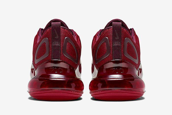 Nike Air Max 720 University Red Night Maroon Ao2924 601 Heels