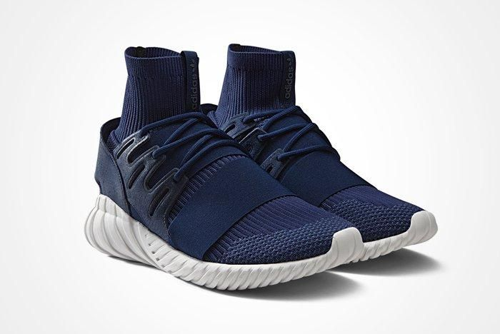 Adidas Tubular Doom Pk Navy And Grey A