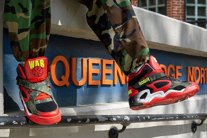Ewing Athletics Rogue Cnn War Report On Foot Dangle