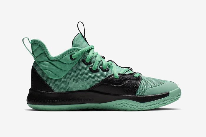 Nike Pg3 Menta Green Medial