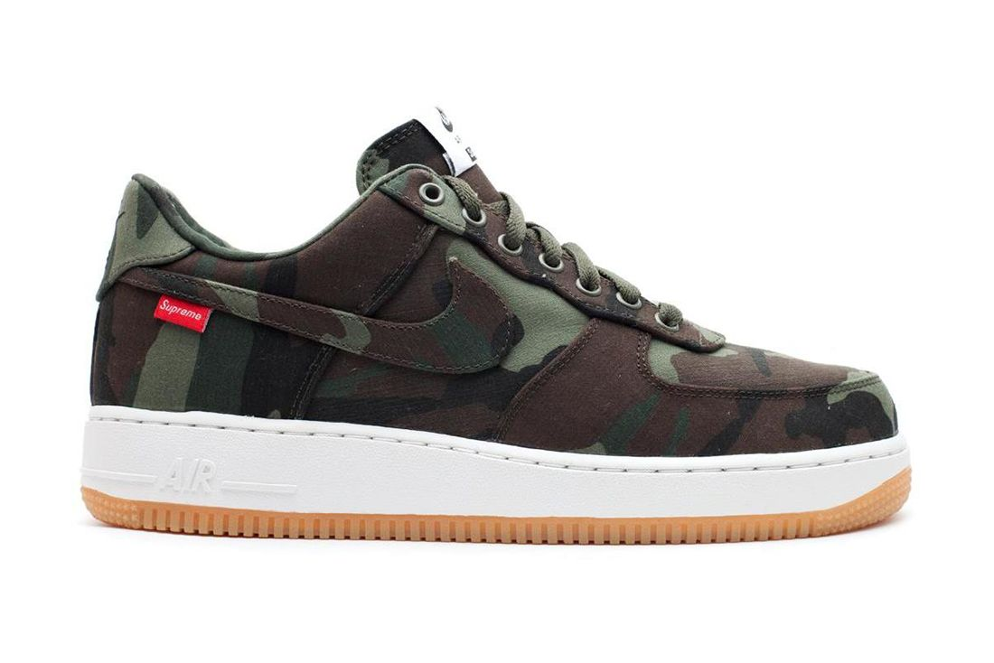 Supreme Camo Low Nike Air Force 1 Best Feature