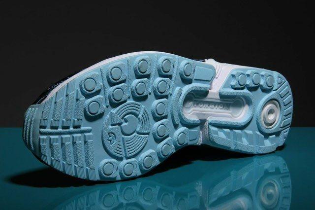Adidas Zx Flux Blue White 4