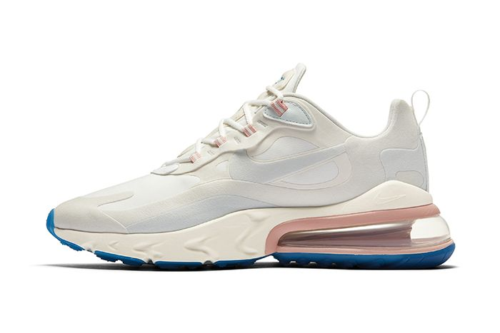 Nike Air Max 270 React Cream Release Date Lateral