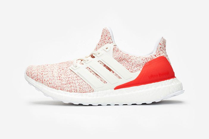 Adidas Ultraboost 4 0 W White Red 2