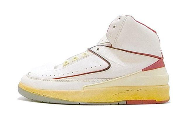 Air Jordan Original 2 White Red