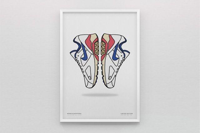 New Range Sneaker Art By Kick Posters 7