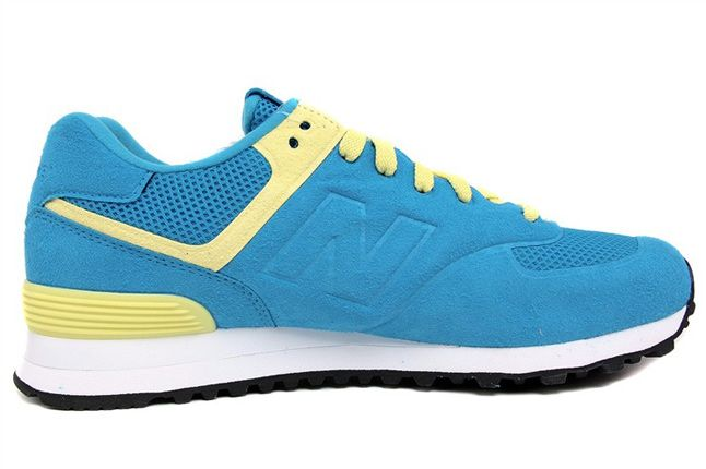 New Balance 574 Blue Yellow 05 1