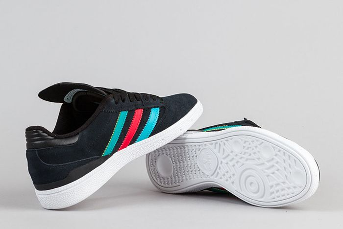 Adidas Busenitz Shoes Black Eqt Green Scarlet 6