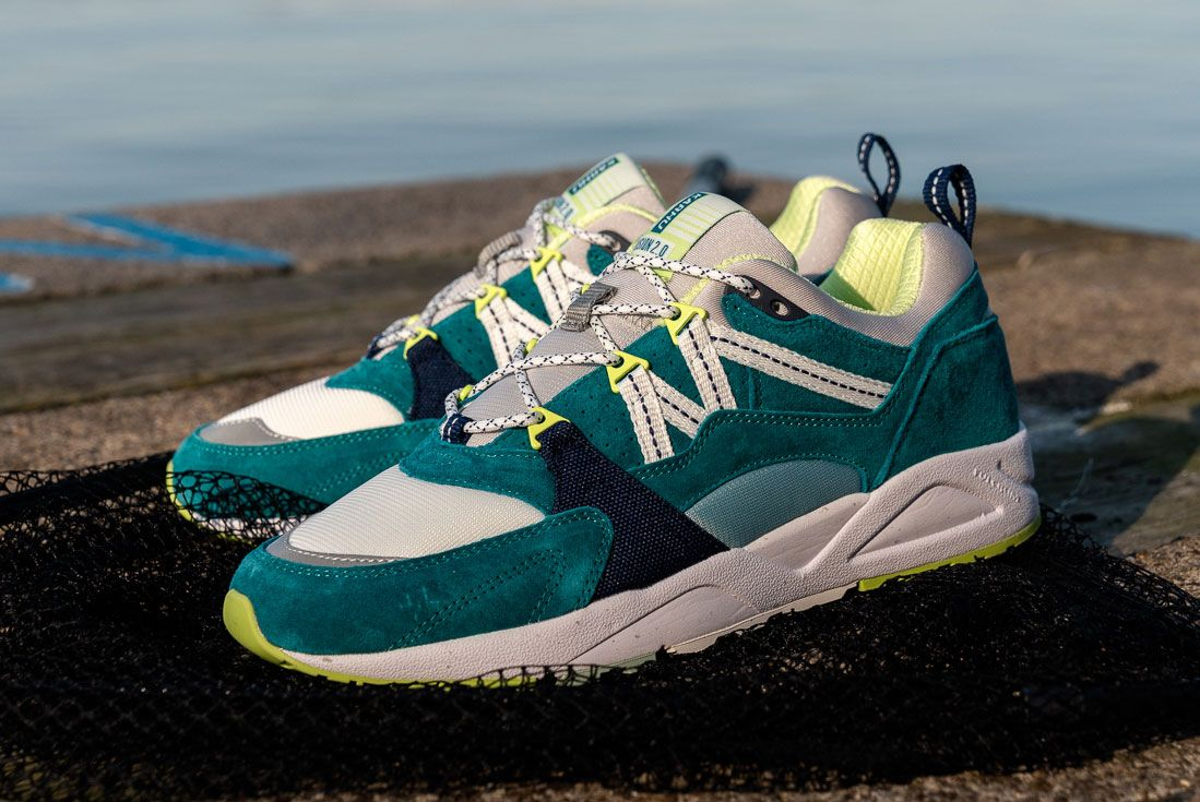 Karhu Catch Of The Day Turquoise Fusion 2 Left