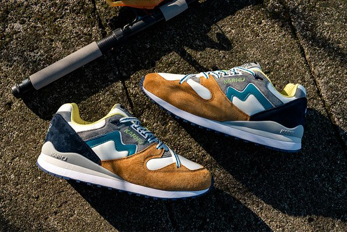 Karhu Catch Of The Day Synchron Brown Pair