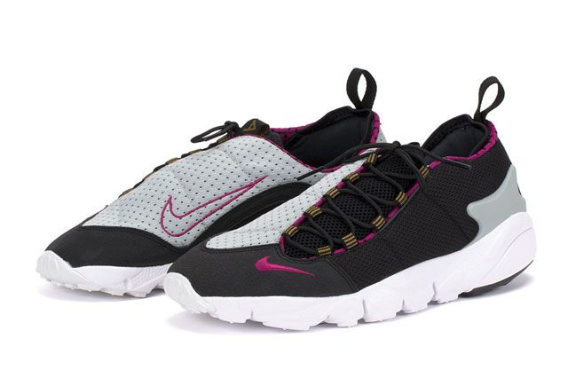 Footscape Blk Magenta Perspective