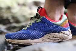 Bodega Saucony Elite Polka Dot Pack Thumb