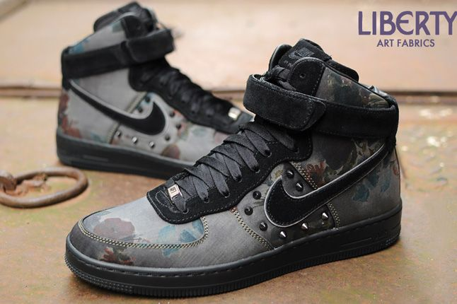 Liberty Of London Nike Air Force 1 Downtown Studded 2013 1
