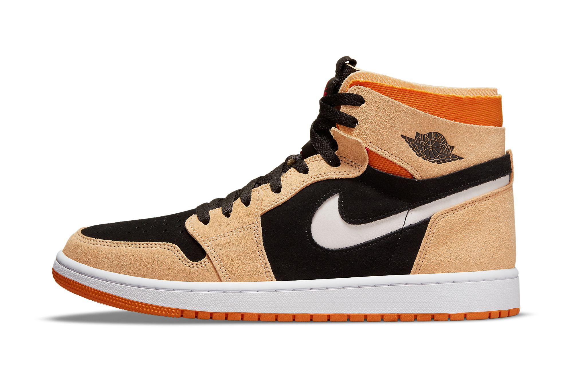 Air Jordan 1 High Zoom CMFT 'Pumpkin Spice'