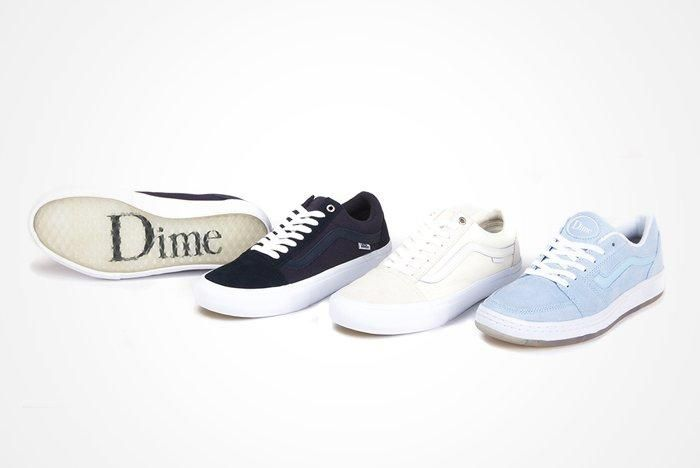 Dime X Vans Old Skool Pro And Fairlane B