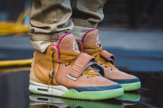 Nike Air Yeezy 2 Custom Maggi 4