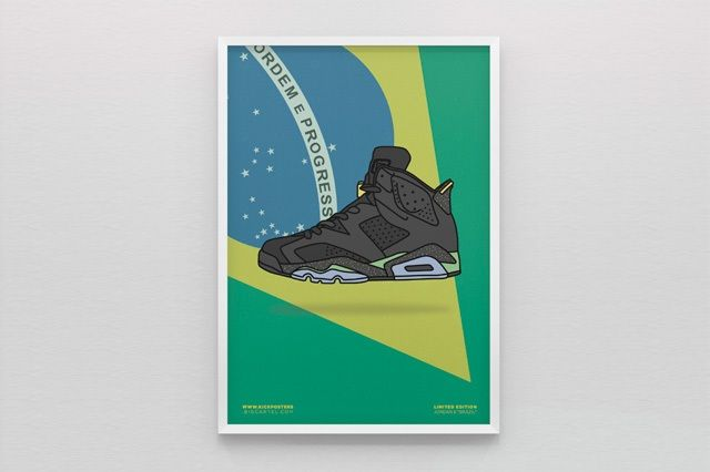 New Range Sneaker Art By Kick Posters 9