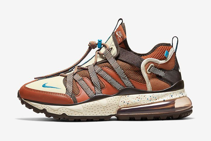 Nike Air Max 270 Bowfin Dark Russet Aj7200 202 Lateral