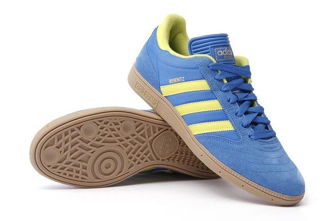 Adidas Busenitz Blue Yellow Hero 1