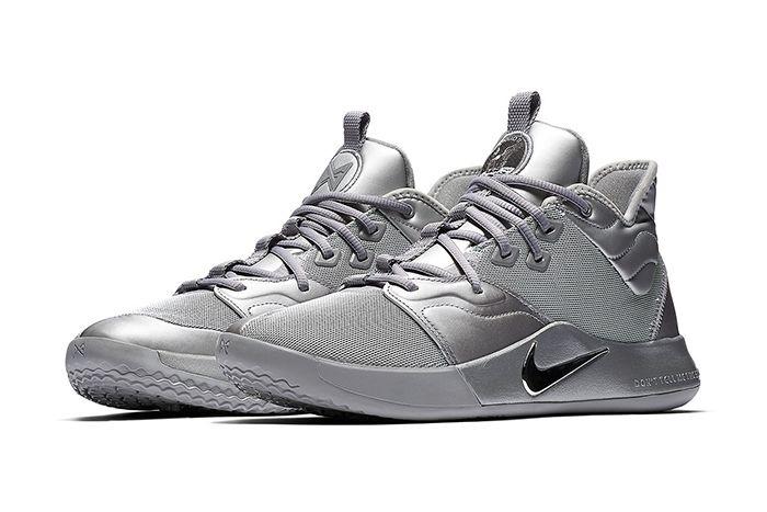 Nike Pg 3 Nasa Reflective Silver Ci2667 001 Pair