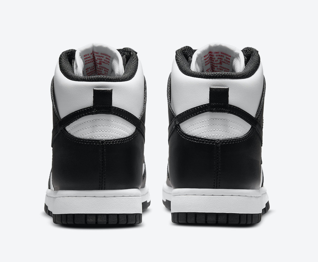 Nike Dunk High Black White DD1869-103