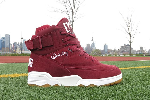 Ewing Athletics 33 Hi Burgundy 8