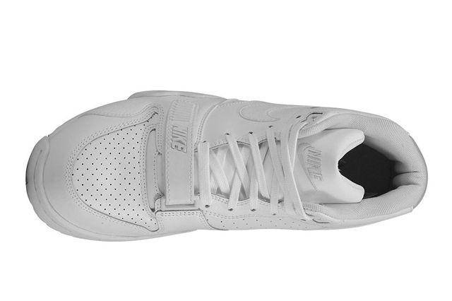 Nike Air Trainer 1 All White 4