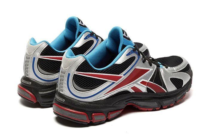 Vetements Reebok Spike Runner 200 Red Silver Heel