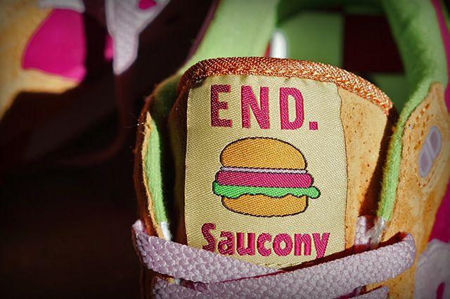 End X Saucony Shadow 5000 Burger 1