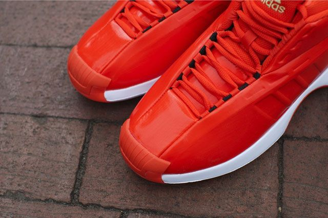 Adidas Crazy 1 Bright Orange Toebox