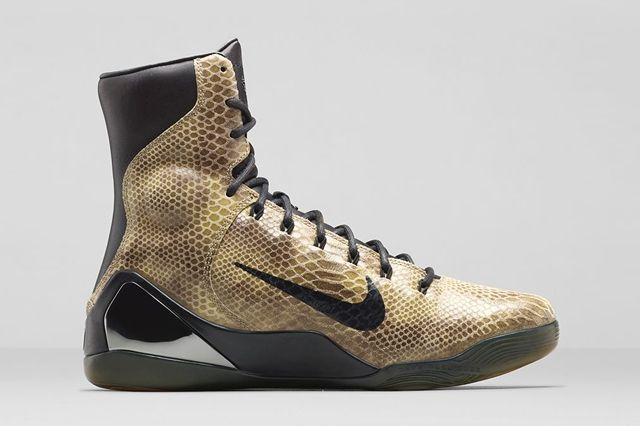 Nike Kobe 9 Ext Snakeskin Bump 5