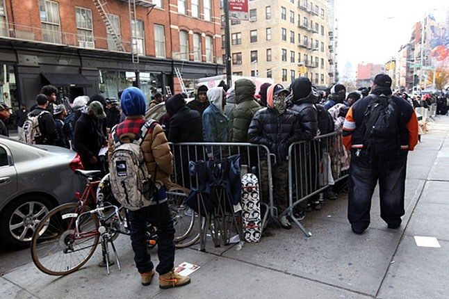 Supreme New York Camp Out 1
