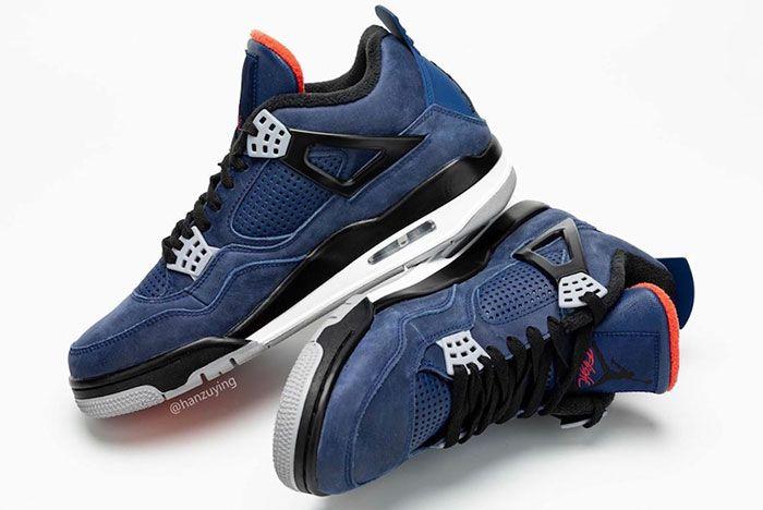 Air Jordan 4 Wntr Loyal Blue Cq9597 401 Release Date 8 Pair