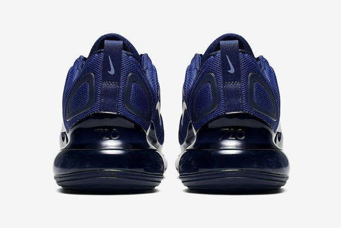 Nike Air Max 720 Midnight Navy Heels
