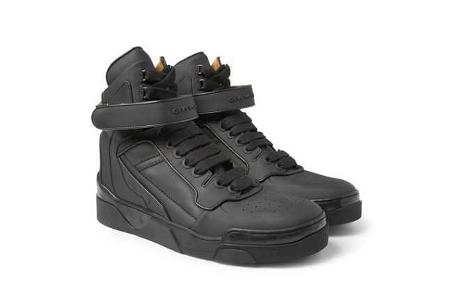 Givenchy Leather0High Top Sneakers 3