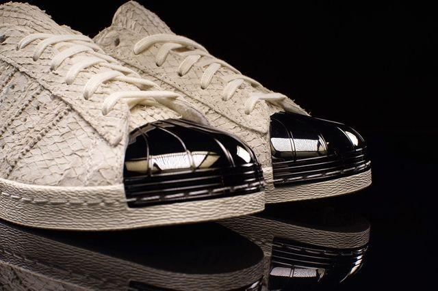 Adidas Superstar 80S Metal Toe Antique White 1